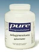 Pur Encapsulations Magnésium (glycinate) - 360 capsules
