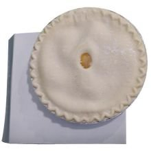 Sara Lee Unbaked Traditional Peach Pie, 8 inch -- 6 per case.