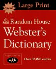 Random House Webster's Dictionary, RH Disney Staff, 0679458107