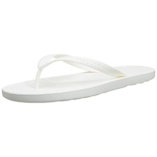 2ce83f50de968 60%OFF Crocs White Flip Flops Chawaii Style Relaxed Fit - loterie.now.be