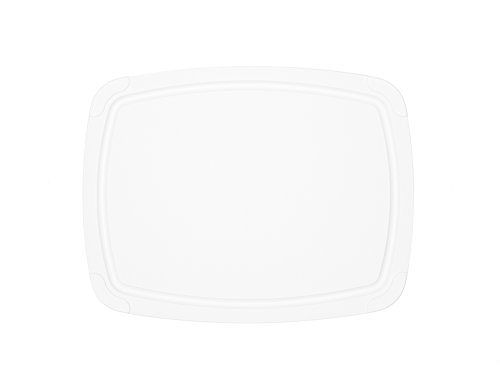 "Epicurean Cutting Board with Removable Silicone Corners, 14.5"" by 11.25"", White"