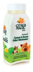 Citrus Magic Carpet - Citrus Magic Natural Carpet & Room Odor Eliminator Pet - Fresh Citrus 11.2 oz Pwdr