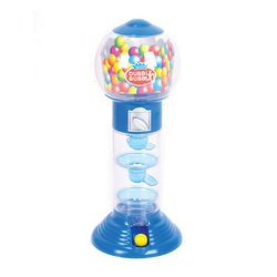 10.5 Inches Spiral Fun Gumball Bank (Colors May Vary) Double Bubble Gumball Machine