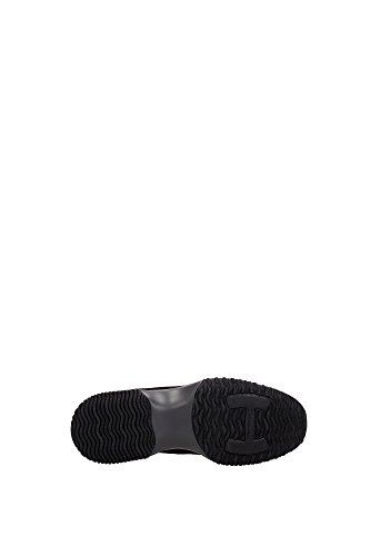 Sneakers Hogan Donna Camoscio Nero e Oro HXW00N00010DTXB208 Nero 36.5EU