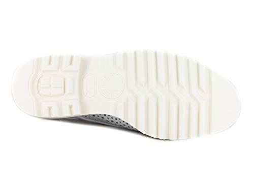 Mephisto Blanco Piel Mujer Cordones De Zapatos Lisa rCPSqrw