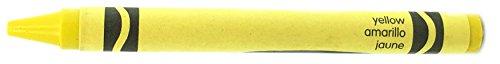 (50 Yellow Crayons Bulk - Single Color Crayon Refill - Regular Size 5/16