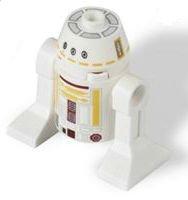 Lego Star Wars R5-F7 Astromech Droid Minifigure