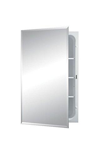 Jensen 1459X Bevel Mirror Medicine Cabinet, 16