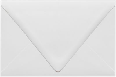 6 x 9 Booklet Contour Flap Envelopes - White - 100% Recycled (50 Qty.) Envelopes Store