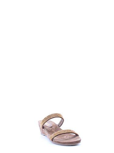 MELLUSO K80021 Taupe - Sandalias de vestir de Piel para mujer Beige Beige Taupe
