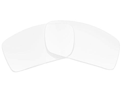 (Replacement Lenses Compatible with OAKLEY Gascan Non-Polarized Clear)