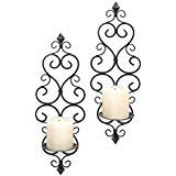(Candle Sconces Wall Sconces Pillar Candle Holder Set Of Two 2 Lovestone)