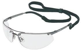 Stanley MaxSafety 1000 Series Safety Glasses with Hard Shell Carrying Case, Silver Mirror Lens (RST-61038) by Stanley B003X0BFRQ