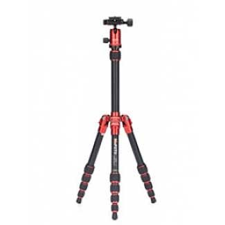 MeFOTO Classic Aluminum Roadtrip Travel Tripod/Monopod Kit - Red (A1350Q1R)
