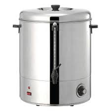 Magic Mill MUR200 Stainless Steel Hot Water Urn - 200 Cups