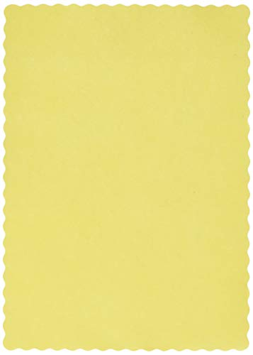 Creative Converting 863266B PLACEMATS, One size, Mimosa ()