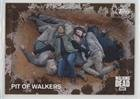 Pit of Walkers #42/50 (Trading Card) 2016 Topps The Walking Dead Season 5 - [Base] - Mud #93
