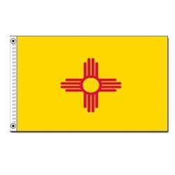 Nyl Banner (State Flag New Mexico 12X18)