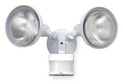 LumaPro 2LBN6 Motion Light, 240 Deg.Viewing Angle, White