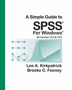 Download A Simple Guide to SPSS for Windows PDF