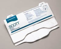 07410-10 Scott Toilet Seat Covers White 3000 Per Case by Kimberly Clark - Seat Kimberly Toilet Covers Clark