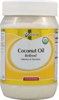 Vitacost Organic Coconut Oil Refined Odorless & Flavorless -- 14 fl oz (Best Coconut Oil For Skin 2019)