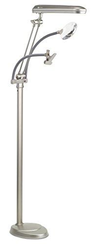 OttLite 24W 3-in-1 Craft Floor Lamp - Champagne