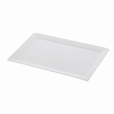 Designer Platter - Maxwell and Williams Basics Sandwich Platter, 14-Inch, White