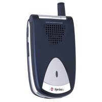 - Sanyo Flip Phone with voice-activated dialing (blue)