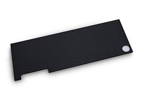 Classic Backplate - EKWB EK-FC Ckassic RTX 2080 Ti GPU Backplate, Black