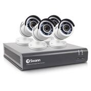 Swann SWDVK-445954-US , 4 Channel 1080p HD Digital Video Recorder DVR Security System with 1TB HDD & 4x 1080p Bullet cameras (Security Swann)