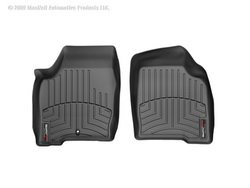 (WeatherTech Custom Fit Front FloorLiner for Chevrolet Impala/Pontiac Grand Prix (Black))