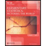 MAT300 Elementary Statistics: Picturing the World Custom Package Mat 300 ()