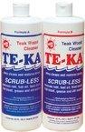 Te-Ka Scrub-less Teak Cleaning System 2 pint Kit