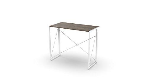 (Urban Shop NK657279 Wood Folding Desk, White)