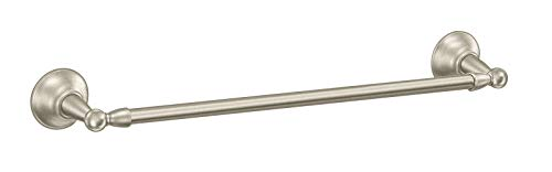 Moen DN6824BN Sage 24-Inch Single Towel Bar, Brushed Nickel