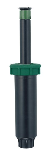 Orbit 54114 Sprinkler System 4-Inch Soft Top Pop-Up Spray Head with 10-15-Foot Coverage In Partial To Full Circle