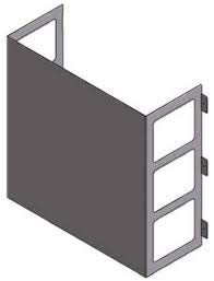 LG ZLABGP02A Low Ambient Wind Baffle Kit for Mini Split Heat Pump (Lg Split Heat Pump)