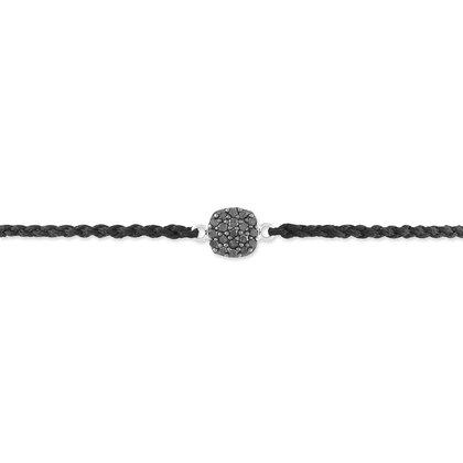 HISTOIRE D'OR - Bracelet Or Blanc et Diamant - Femme - Or blanc 375/1000 - Taille Unique