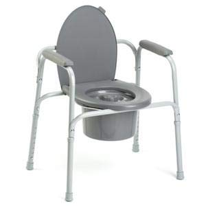 All-In-One Aluminum Commode-NA - Each 1