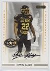 Edwin Baker (Football Card) 2009 Razor U.S. Army All-American Bowl - Autographs #HSAA-AU-33