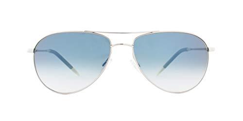 Oliver Peoples Eyewear Men's Benedict Sunglasses, Blue Mirror, One ()