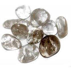 3 Tumbled Clear Quartz Stones Gemstones Crystals Healing Rocks Wiccan Supplies