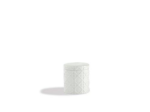 - Kassatex ARN-CJ Rattan Cotton Jar