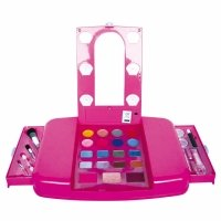 Toy Planet - Tocador de maquillaje, talla pequeña