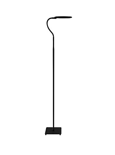Trae KIYO LED Floor Lamp for Reading - Dimmable Adjustable Gooseneck Standing Lamp, Touch Control 3 Brightness Dimmer Levels, Memory Function Flexible Torchiere Floor Light for Living Room, Bedroom by Trae