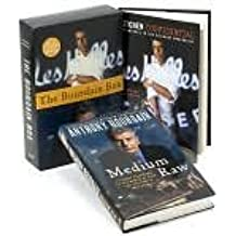 Anthony Bourdain Box 2 Book Set: Kitchen Confidential / Medium Raw
