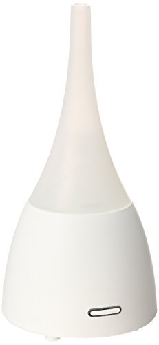 ZAQ Allay Essential Oil Diffuser LiteMist Ultrasonic Aromatherapy With Ionizer - 80 ML Capacity, White by ZAQ