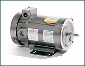 BALDOR CD3433 56C Frame TEFC DC Motor, 0.333 hp, 1750 rpm, 3413D, F1, N
