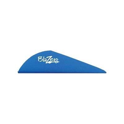 Bohning Blazer Archery Vane (100-Pack), Satin Blue